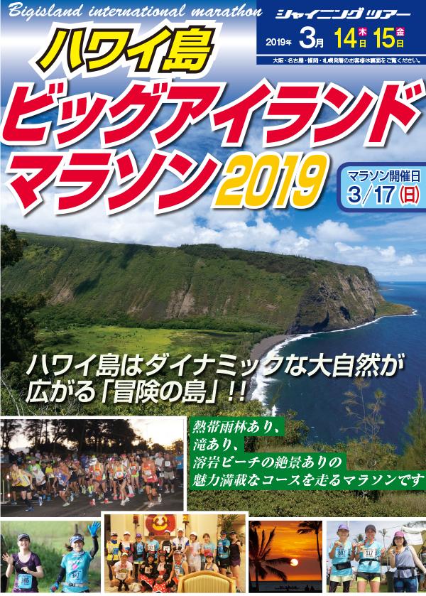 ビッグアイランドマラソンツアー2019