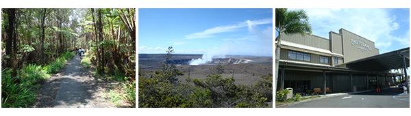 キラウエア火山観光とショッピングイメージ width=